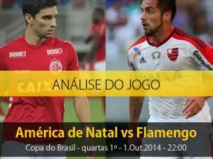 Análise do jogo: América de Natal vs Flamengo (1 Outubro 2014)