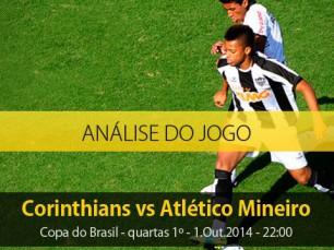 Análise do jogo: Corinthians vs Atlético Mineiro (1 Outubro 2014)