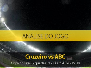 Análise do jogo: Cruzeiro vs ABC (1 Outubro 2014)