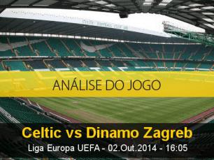 Análise do jogo: Celtic vs Dinamo Zagreb (2 Outubro 2014)