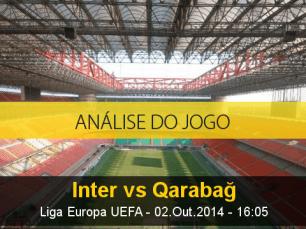 Análise do jogo: Inter de Milão vs Karabakh (2 Outubro 2014)