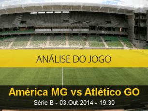 Análise do jogo: América Mineiro vs Atl. Goianiense (3 Outubro 2014)