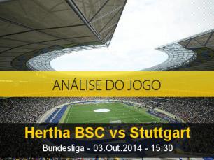 Análise do jogo: Herta de Berlim vs Estugarda (3 Outubro 2014)