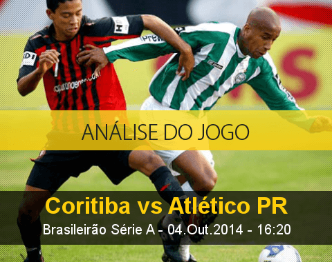 Análise do jogo: Coritiba vs Atlético Paranaense (4 Outubro 2014)