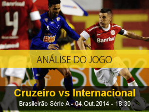 Análise do jogo: Cruzeiro vs Internacional (4 Outubro 2014)