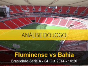 Análise do jogo: Fluminense vs Bahia (4 Outubro 2014)