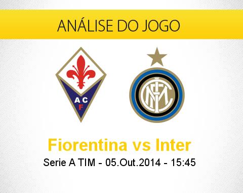 Análise do jogo: Fiorentina vs Inter de Milão (5 Outubro 2014)