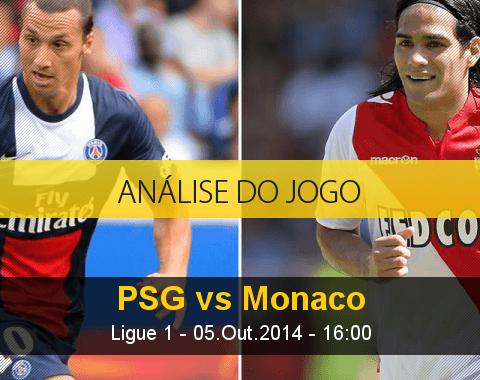 Análise do jogo: PSG vs Monaco (5 Outubro 2014)