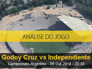 Análise do jogo: Godoy Cruz vs Independiente (6 Outubro 2014)
