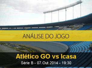 Análise do jogo: Atlético Goianiense vs Icasa (7 Outubro 2014)