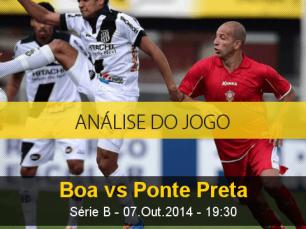 Análise do jogo: Boa Esporte vs Ponte Preta (7 Outubro 2014)