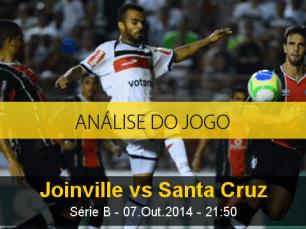 Análise do jogo: Joinville vs Santa Cruz (7 Outubro 2014)