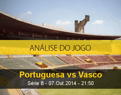 Análise do jogo: Portuguesa vs Vasco (7 Outubro 2014)