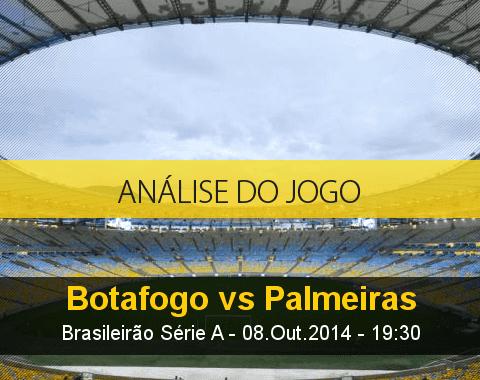 Análise do jogo: Botafogo vs Palmeiras (8 Outubro 2014)