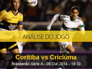 Análise do jogo: Coritiba vs Criciúma (8 Outubro 2014)