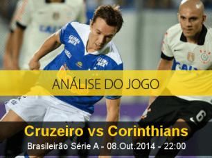 Análise do jogo: Cruzeiro vs Corinthians (8 Outubro 2014)