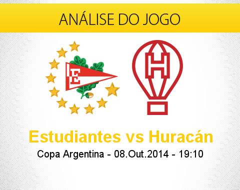 Análise do jogo: Estudiantes vs Huracán (8 Outubro 2014)