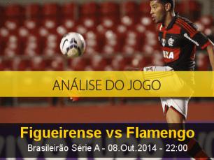 Análise do jogo: Figueirense vs Flamengo (8 Outubro 2014)
