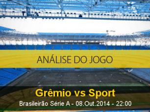 Análise do jogo: Grêmio vs Sport (8 Outubro 2014)