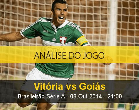 Análise do jogo: Vitória vs Goiás (8 Outubro 2014)