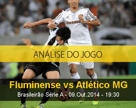 Análise do jogo: Fluminense vs Atlético Mineiro (9 Outubro 2014)