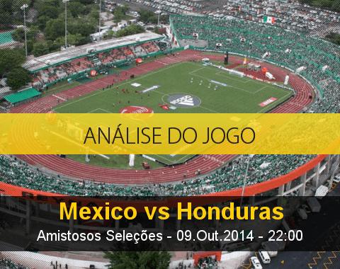 Análise do jogo: México vs Honduras (9 Outubro 2014)