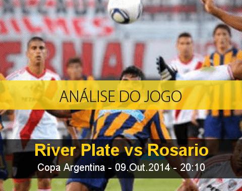 Análise do jogo: River Plate vs Rosário Central (9 Outubro 2014)