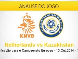 Análise do jogo: Holanda vs Cazaquistão (10 Outubro 2014)