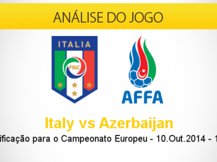Análise do jogo: Itália vs Azerbaijão (10 Outubro 2014)