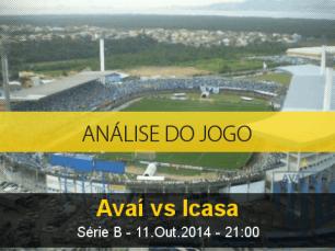 Análise do jogo: Avaí X Icasa (11 Outubro 2014)