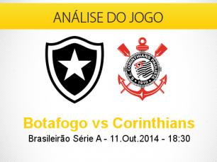 Análise do jogo: Botafogo X Corinthians (11 Outubro 2014)