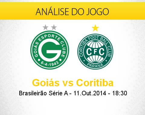 Análise do jogo: Goiás X Coritiba (11 Outubro 2014)