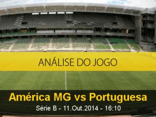 Análise do jogo: América Mineiro X Portuguesa (11 Outubro 2014)