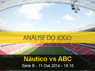Análise do jogo: Náutico X ABC (11 Outubro 2014)