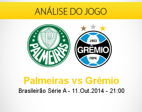 Análise do jogo: Palmeiras X Grêmio (11 Outubro 2014)