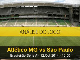 Análise do jogo: Atlético Mineiro vs São Paulo (12 Outubro 2014)