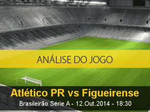 Análise do jogo: Atlético-PR vs Figueirense (12 Outubro 2014)