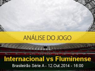 Análise do jogo: Internacional vs Fluminense (12 Outubro 2014)