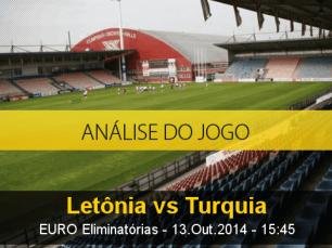 Análise do jogo: Letónia vs Turquia (13 Outubro 2014)