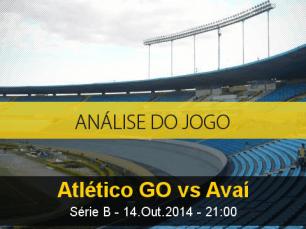 Análise do jogo: Atlético Goianiense vs Avaí (14 Outubro 2014)