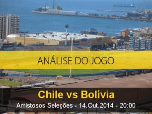 Análise do jogo: Chile vs Bolívia (14 Outubro 2014)