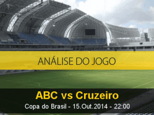 Análise do jogo: ABC vs Cruzeiro (15 Outubro 2014)