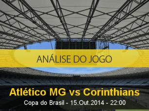 Análise do jogo: Atlético Mineiro vs Corinthians (15 Outubro 2014)