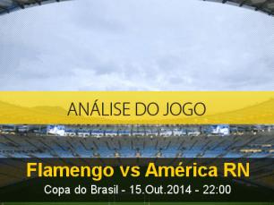 Análise do jogo: Flamengo vs América de Natal (15 Outubro 2014)