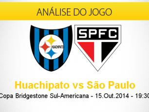 Análise do jogo: Huachipato vs São Paulo (15 Outubro 2014)