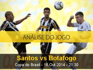 Análise do jogo: Santos vs Botafogo (16 Outubro 2014)