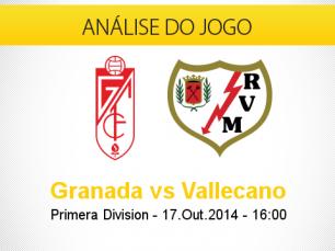 Análise do jogo: Granada X Rayo Vallecano (17 Outubro 2014)