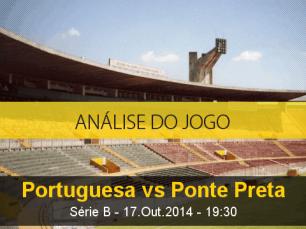 Análise do jogo: Portuguesa X Ponte Preta (17 Outubro 2014)