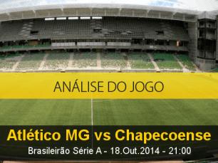 Análise do jogo: Atlético Mineiro vs Chapecoense (18 Outubro 2014)