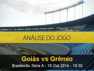 Análise do jogo: Goiás vs Grêmio (18 Outubro 2014)